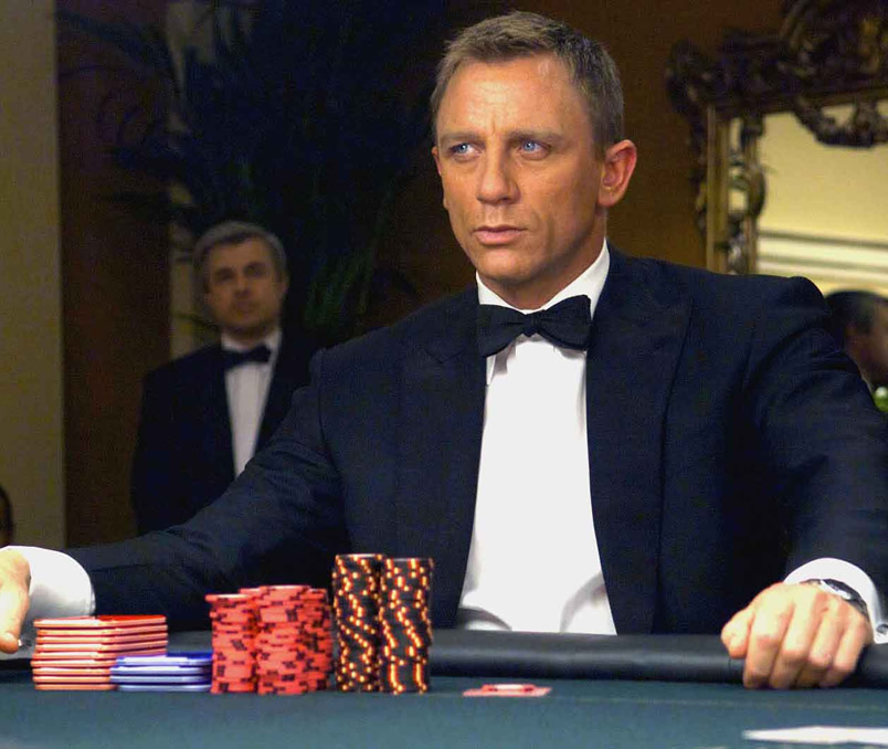 Casino Royal filmi- Daniel Craig ve Mad Mikkelsen