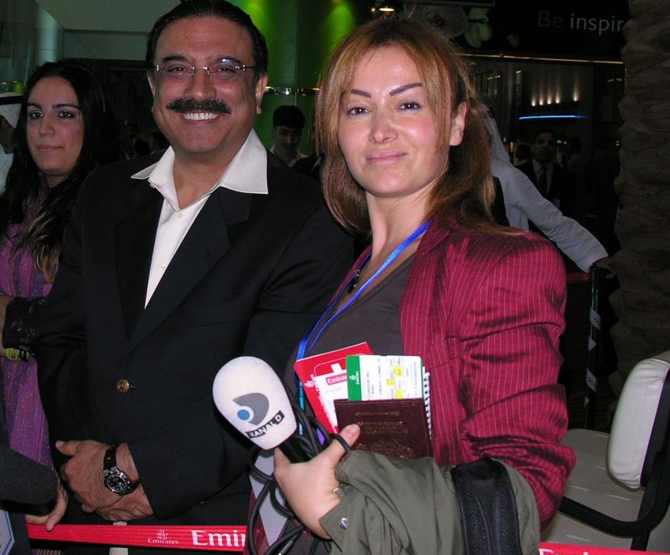 Dubai'de, Benazir Butto'yu beklerken